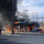 Sunoco Gas Station in Rockville Destroyed by Fire