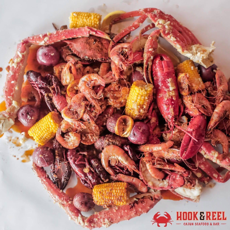 Hook & Reel Cajun Seafood Bar is Coming to MoCo (Two ...